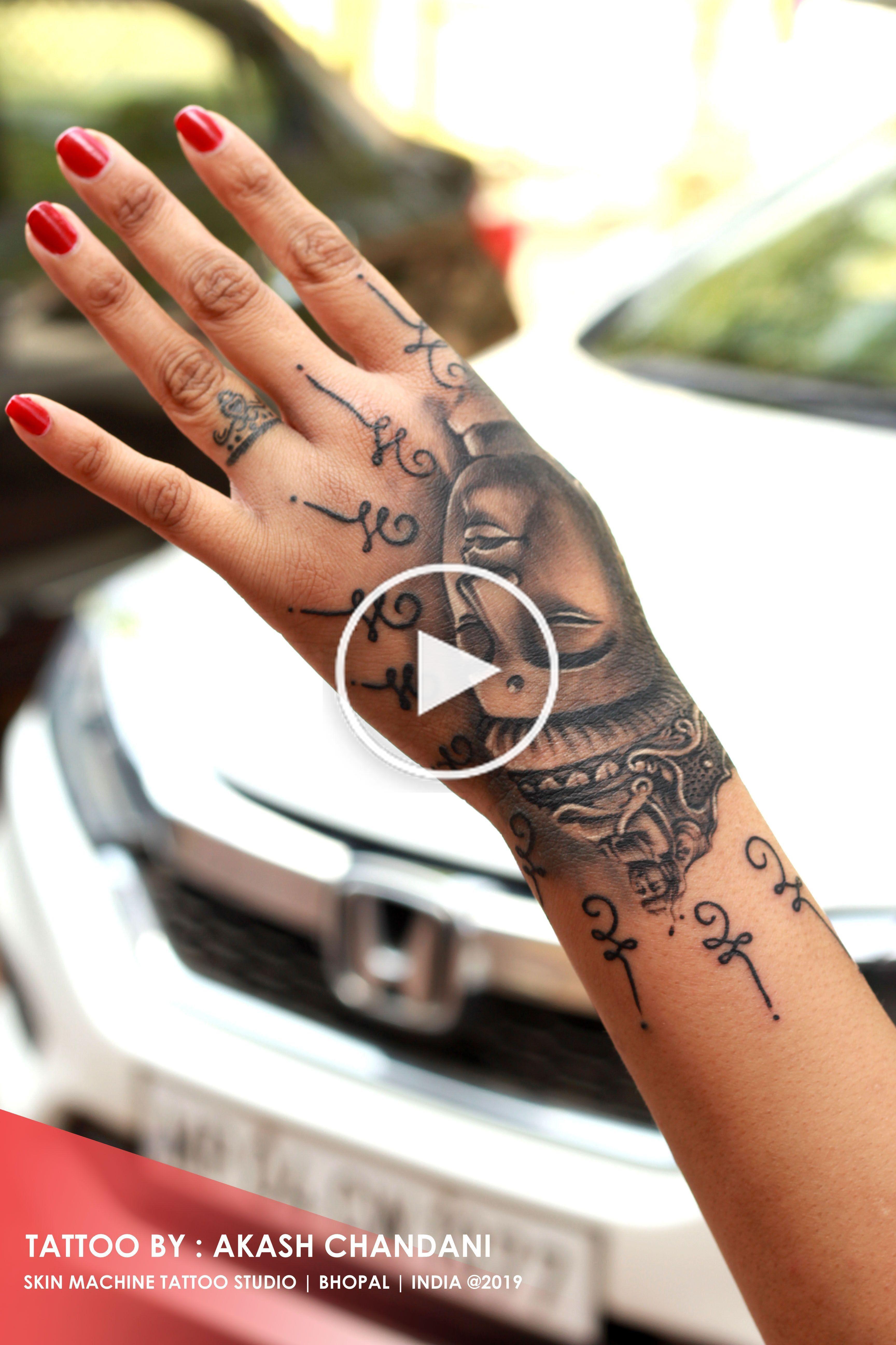 Hand Buddha Tattoo In 2020 Buddha Tattoo Buddha Tattoo Design Hand Tattoos
