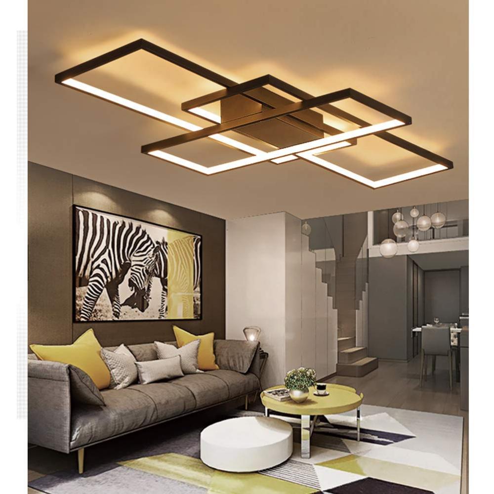LED Deckenleuchte Modern Dimmbar Fernbedienung Lampen