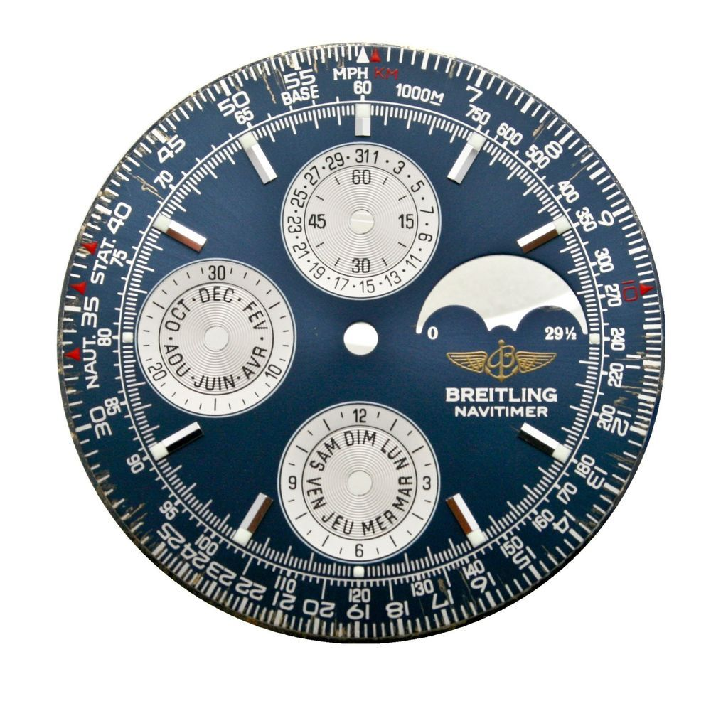 Breitling navitimer olympus a19340 factory blue dial with
