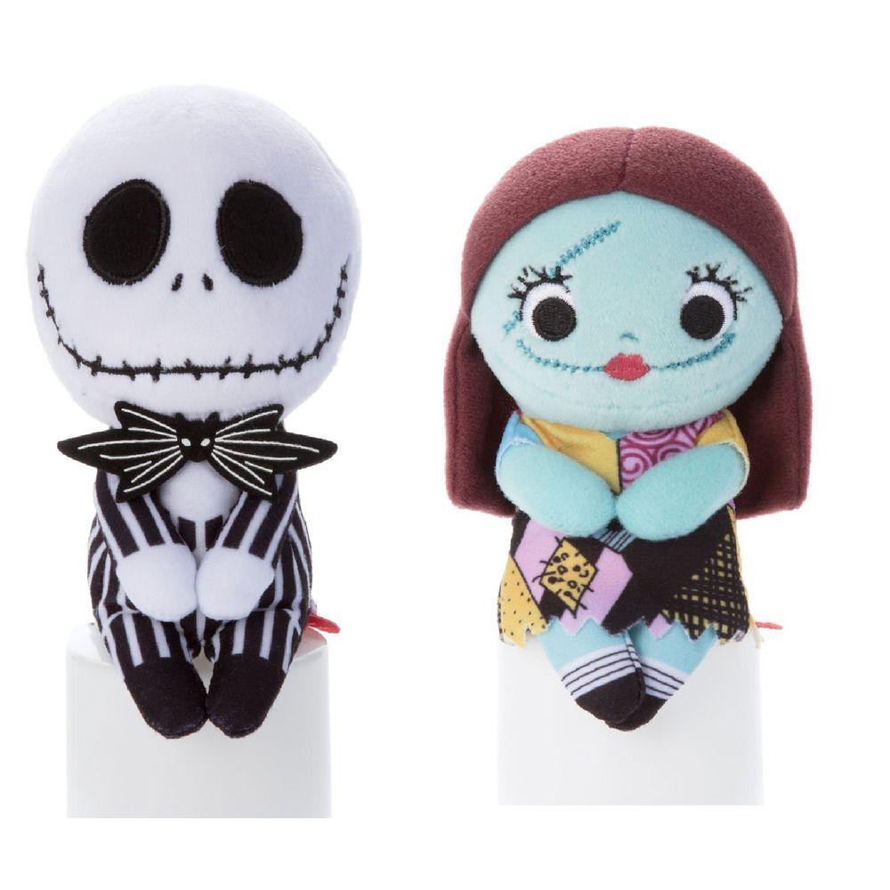 Jack & Sally set Chokkorisan Plush Doll Disney Japan Nightmare ...