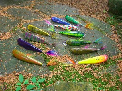 Brooklyn Bait fishing Lures    obermeier kraatz creative llc. © copyright 2012