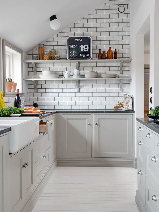 Fantastic Houzz Small Galley Kitchen Design Ideas Remodel Pictures Home Remodeling Inspirations Genioncuboardxyz