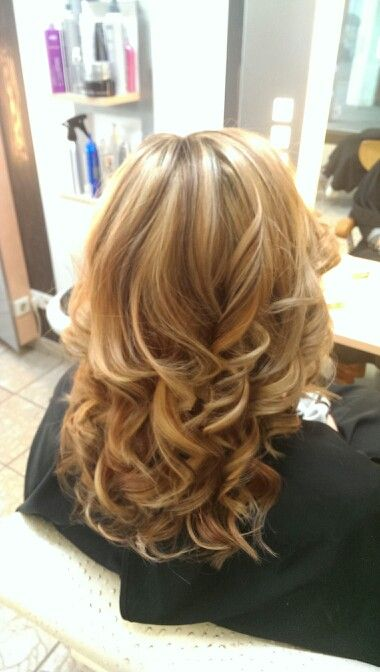nach 2x str hnen von braun zu blond made by haarstudio bianka simon pinterest frisur. Black Bedroom Furniture Sets. Home Design Ideas