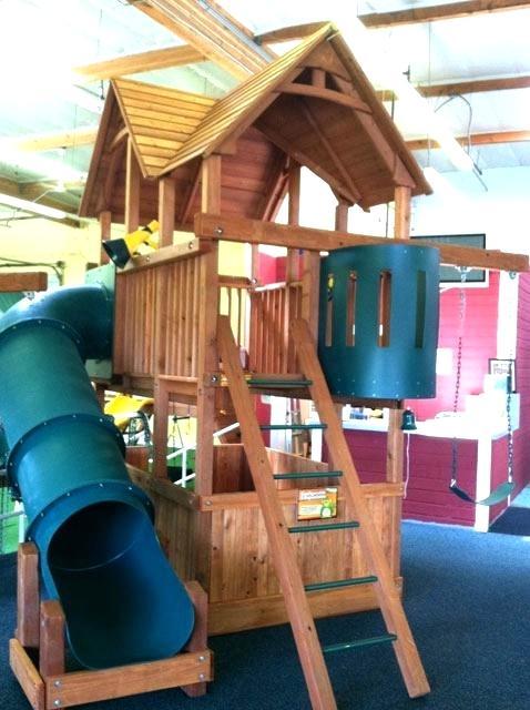 Backyard Factory | Small yard kids, Backyard playset ...