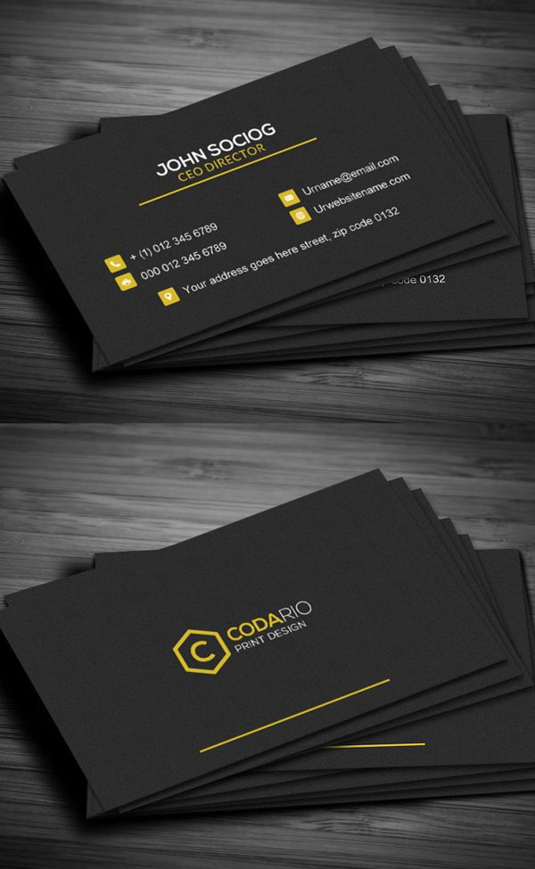 Construction Business Card Businesscards Branding Psdtemplates - Construction business card template