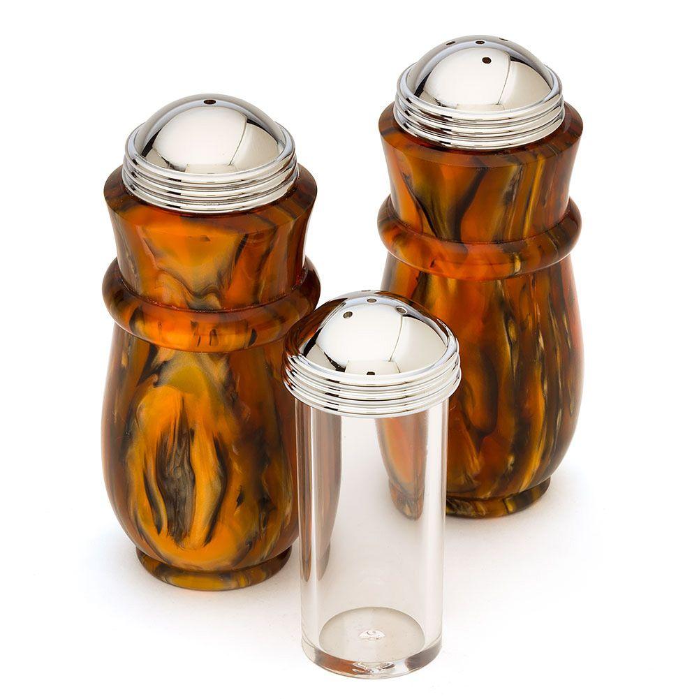Artisan Salt & Pepper Shaker Kits Great Woodturning Projects #woodturning