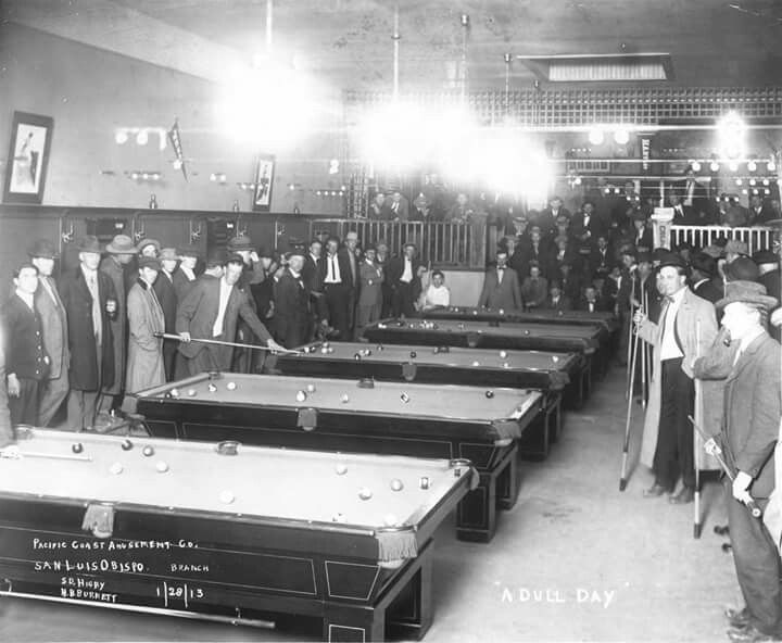 Vintage Pool Hall Money