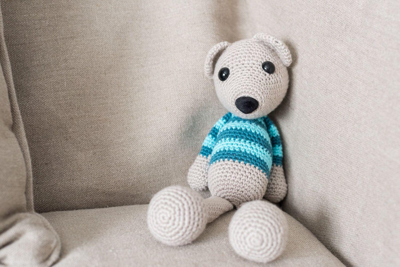 Perfecto Patrón De Crochet Carenado Oso Imágenes - Ideas de Patrones ...