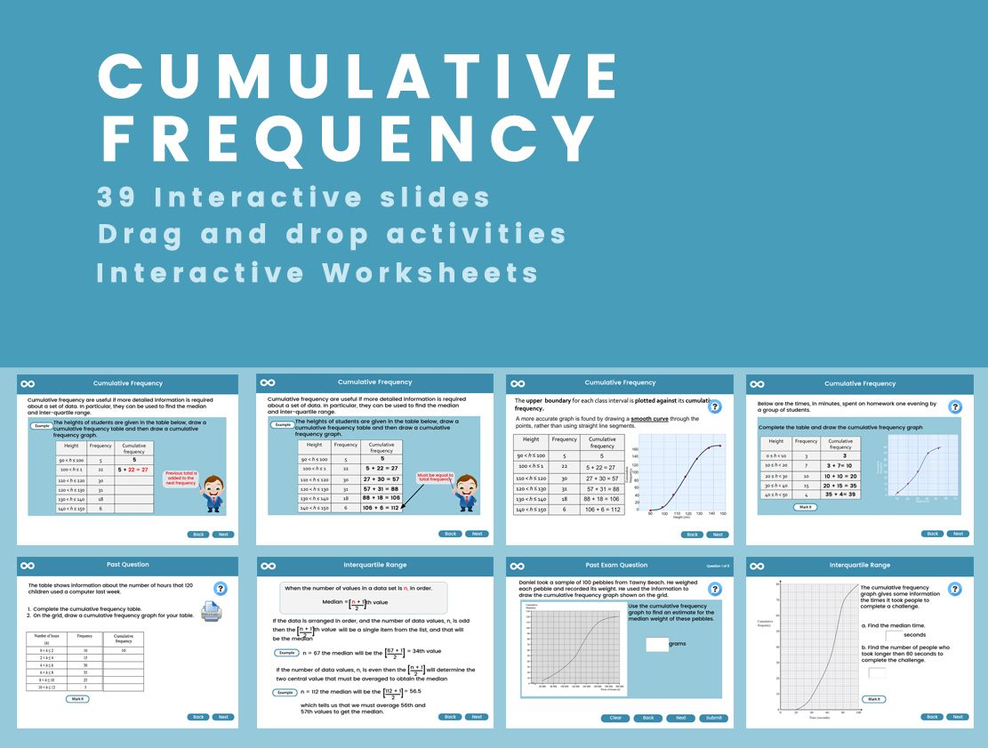 Cumulative Frequency Gcse 1 9