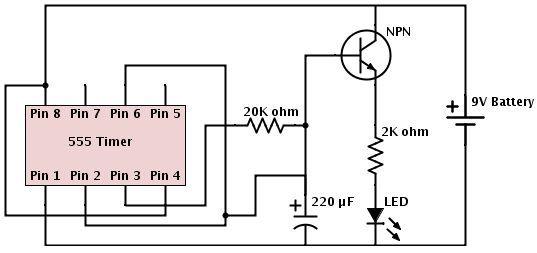 Wiring Timer Led Circuit