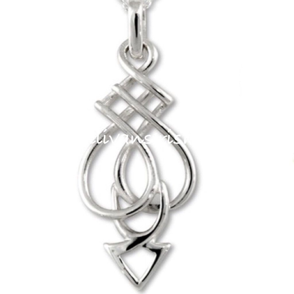 Celtic spear pendant symbol of protection in sterling silver celtic spear pendant symbol of protection in sterling silver handmade in dublin by barry biocorpaavc