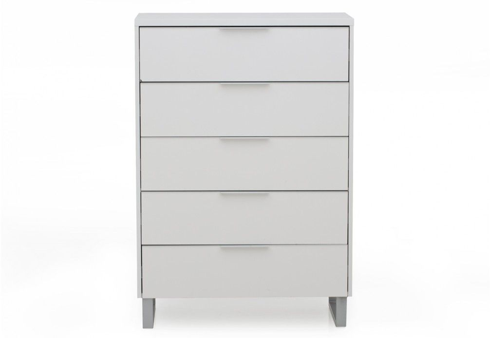 Ice 5 Drawer Tall Chest | Super A-Mart