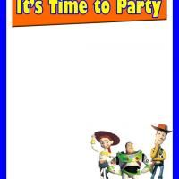 Toy Story Invitation Check Out Www Freeprintable Com For More
