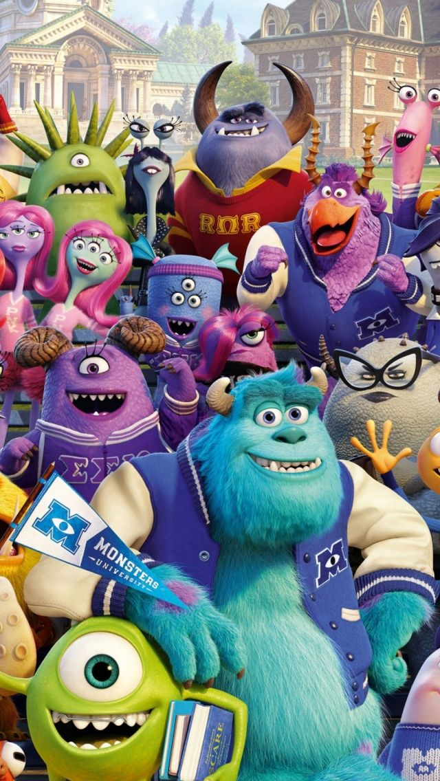 Monsters university mobile wallpapers pinterest monsters and monsters university voltagebd Choice Image