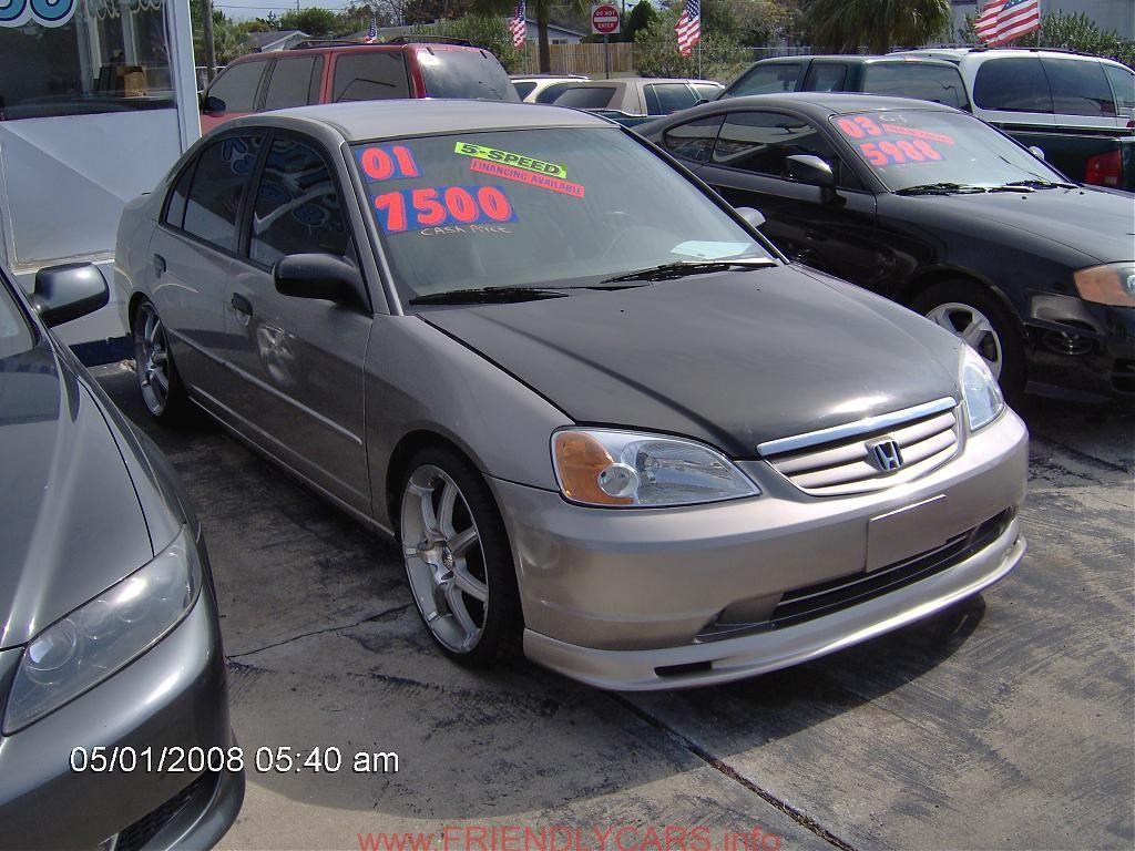 Honda Civic 2002 4 Door Car Images Hd Alifiah Sites