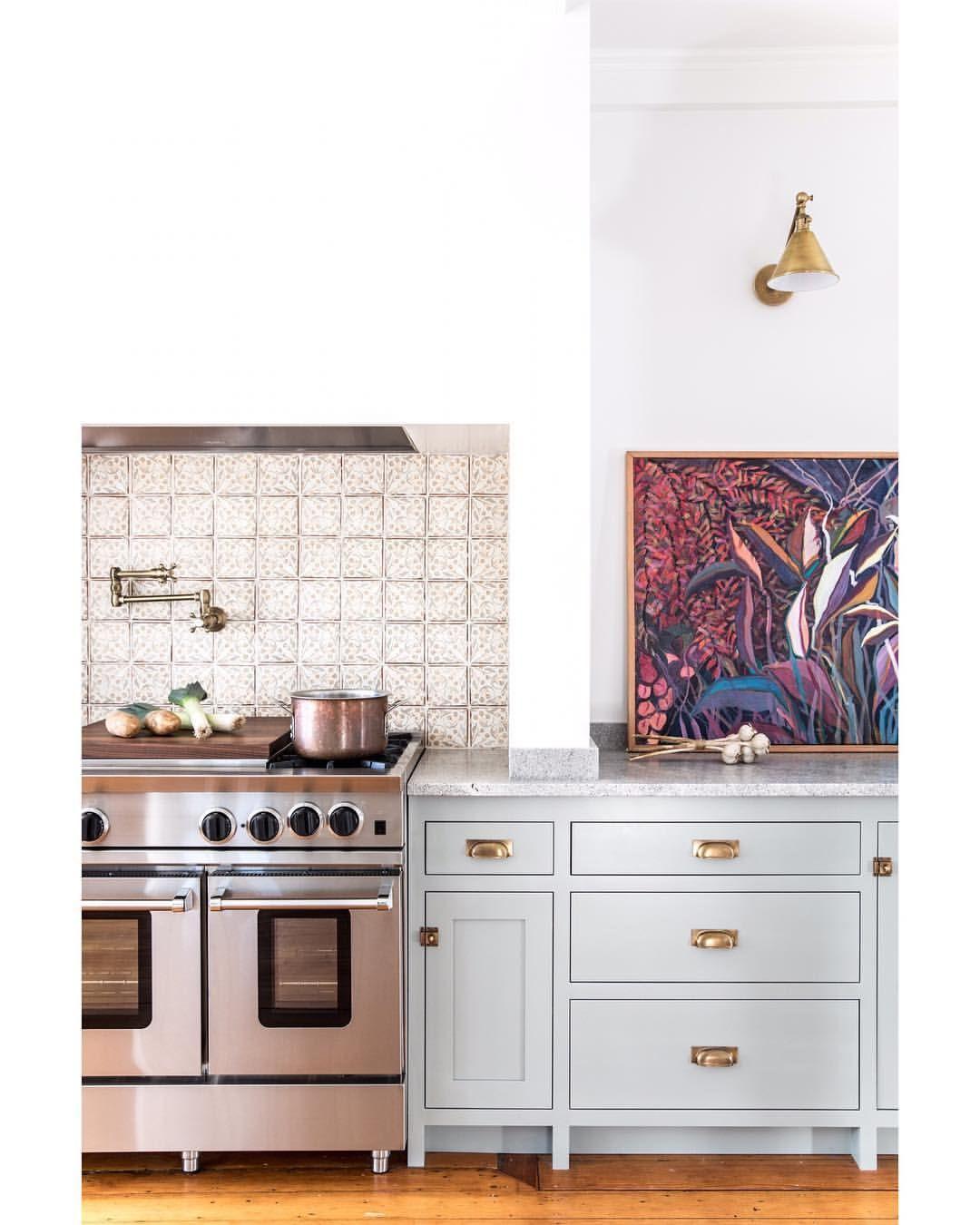 Best Kitchen Cabinets In Farrow Ball Pigeon Walls In Wevet 400 x 300