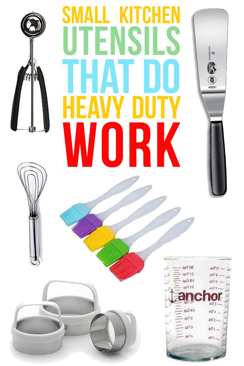 Small-Kitchen-Utensils-That-Do-Heavy-Duty-Work- | Kitchen utensils ...