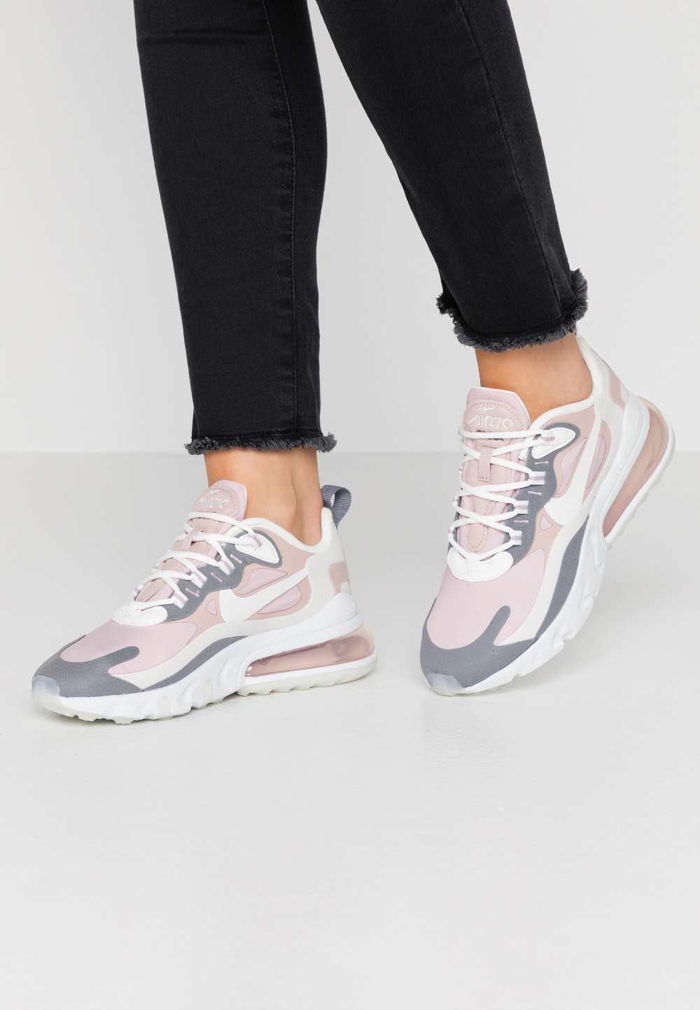 Nike Sportswear AIR MAX 270 REACT - Sneakers - plum chalk ...