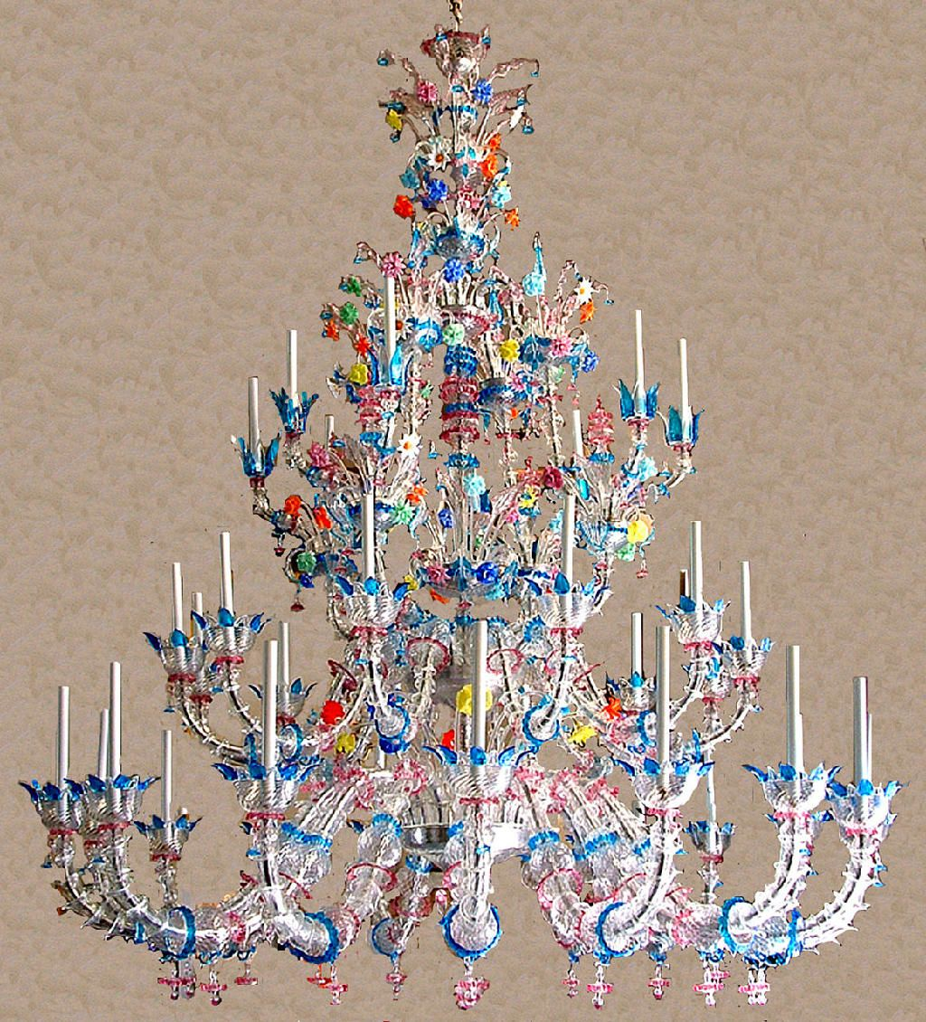 chandelier household prepare glass chandeliers murano with venetian to regard amazing