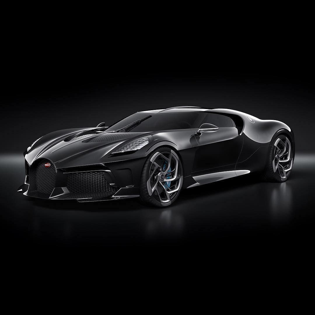 Bugatti La Voiture Noire Official Photos One-off Hypercar