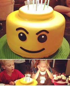SASSY CAKES - Your Fondant Cake Design Destination: Lego Cake