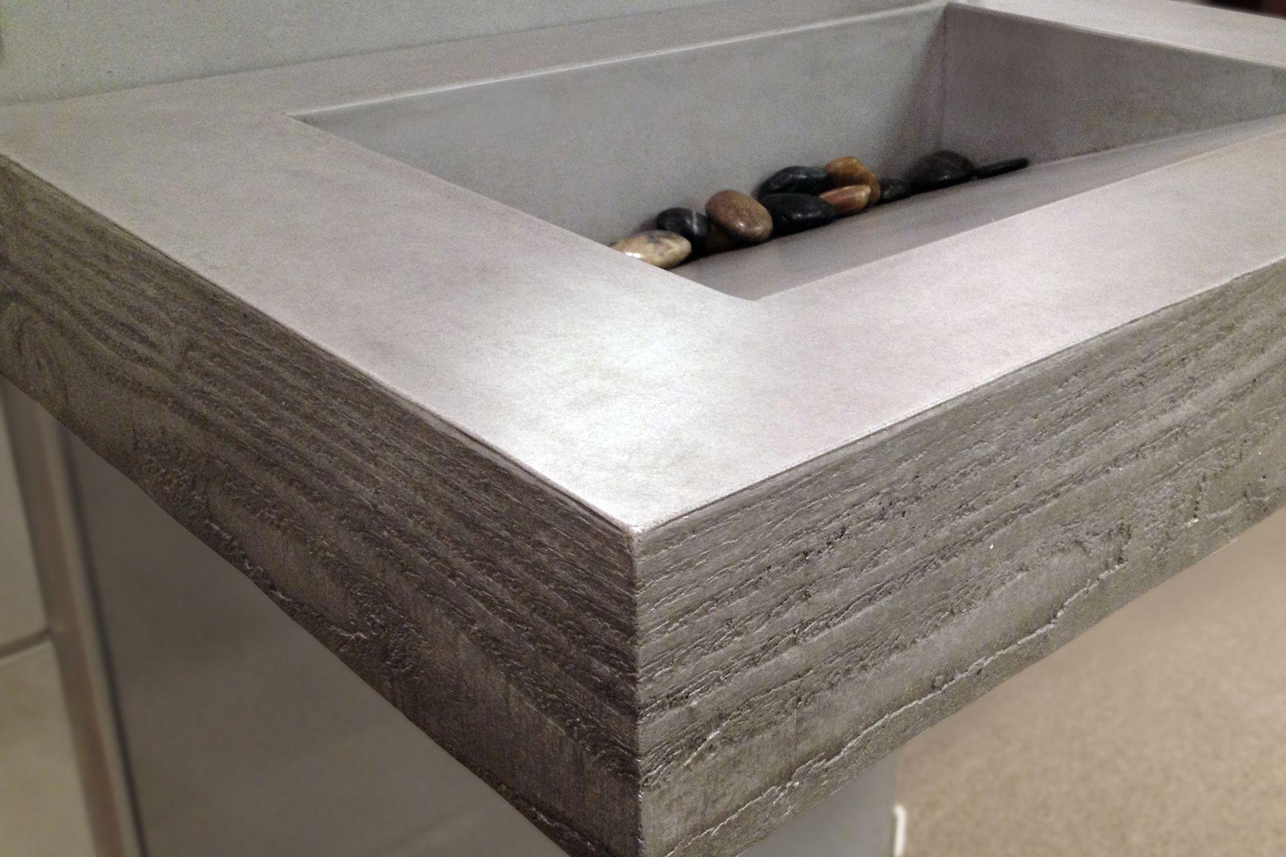 Concrete Sink Diy True Form Decor Concrete Sink Concrete Design Sinks Pinterest
