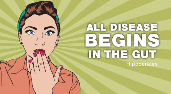 Do Diseases begin in the gutA Shocking Truth