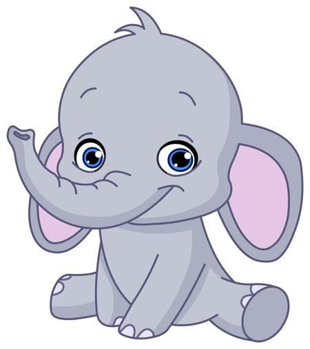 Cute And Funny Names For Your Baby Elephant Baby Elephant Cartoon Baby Elephant Drawing Baby Elephant