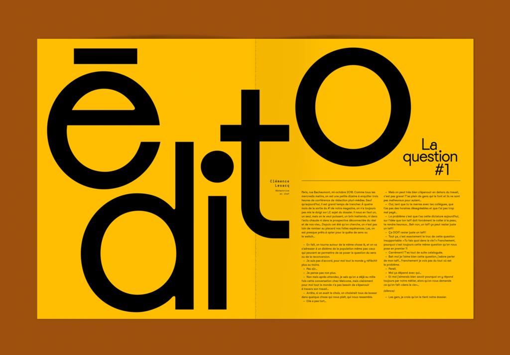 Typography Design #editoriallayout