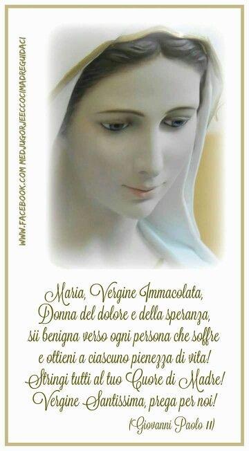 Frasi Sulla Mamma Giovanni Paolo Ii.Giovanni Paolo Ii Citazioni Religiose Preghiere Versetti Biblici