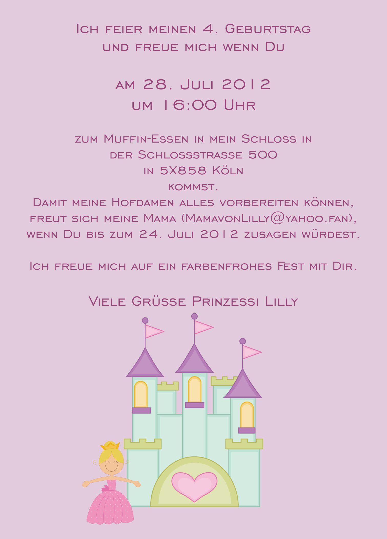 Einladung Kindergeburtstag Text Schatzsuche Birthday Text