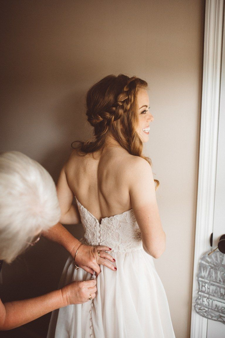 Young girls wedding dresses   WeddingReady Braids  Braid hairstyles Bridal hairstyle and Makeup
