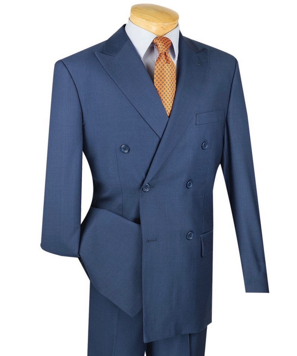 ainr Mens Slim Single Breasted Peaked Lapel 2 Button Jacket Blazer