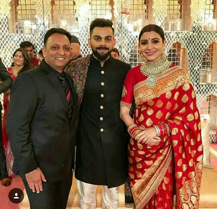 The Delhi Function Was A Royal Event Where Anushka Wore A