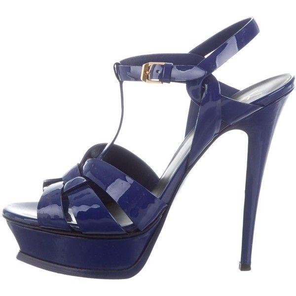 Pre-owned - Patent leather sandals Saint Laurent JMS2hxej