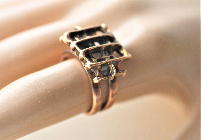 Studio Else Paul Else Berntsen Paul Hughes Norway Etsy Bronze Ring Ring Designs Jewelry Design