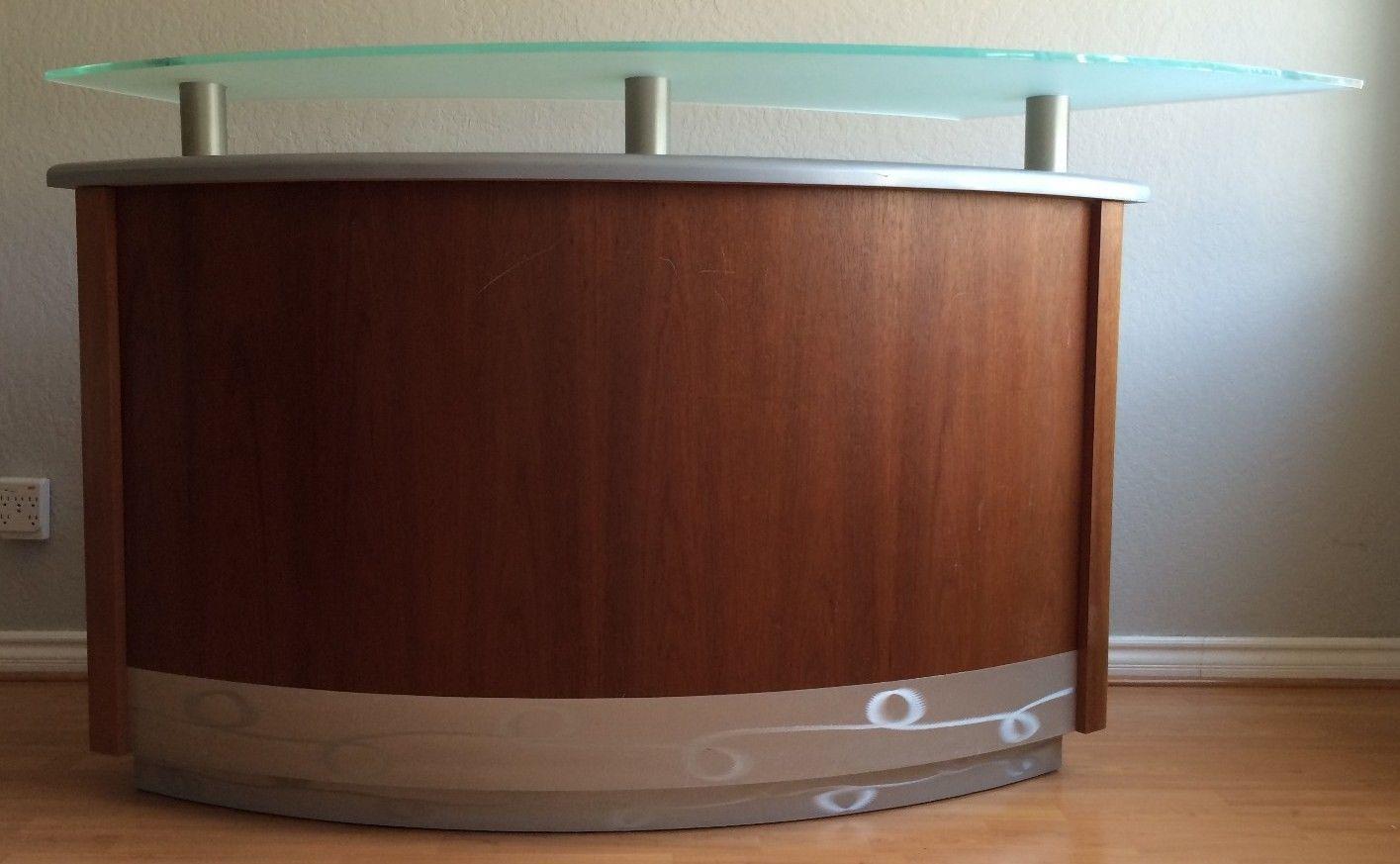 Elegant Contemporary Freestanding Martini Home Bar W 2 Bar Stools