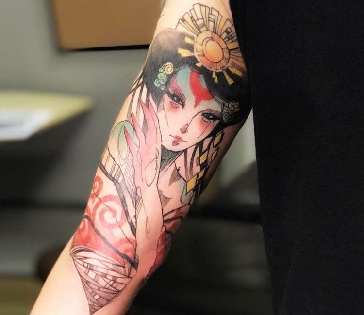 Amaterasu Tattoo By Eliel Mendes Tattoos Amaterasu Tattoo Images