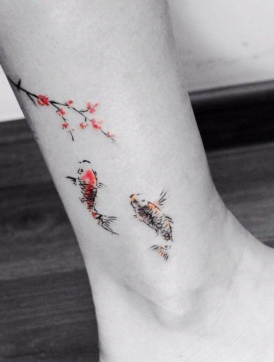 85 sinnvolle Knöchel Tattoo Ideen für Frauen - Wohnideen und Dekoration