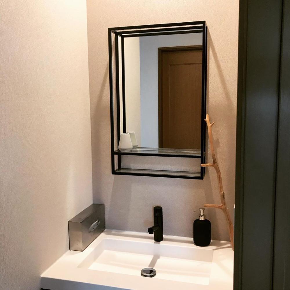 フィーネミラー 洗面所 サンワカンパニー 2020 洗面所 ミラー