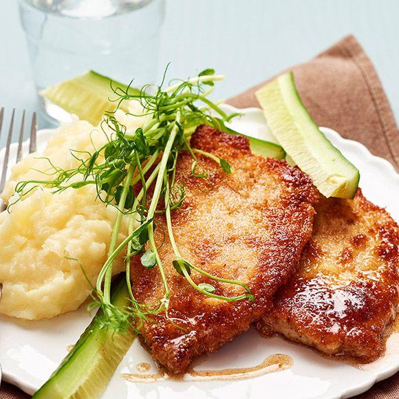 schnitzel recept ica