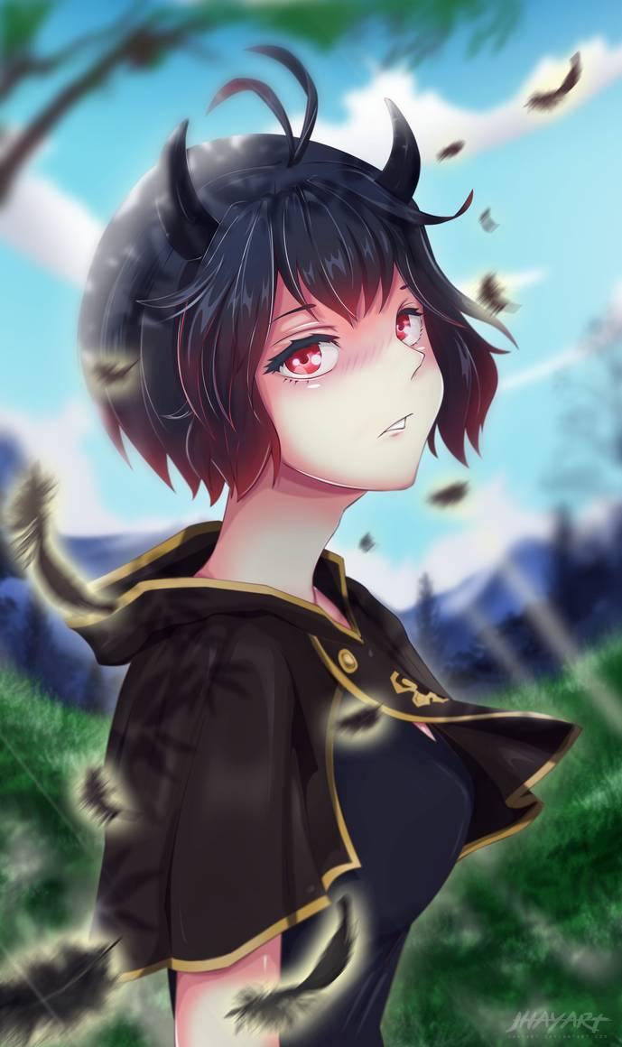 Nero Black Clover By Jhayart On Deviantart Personagens De Anime Fantasia Anime Fantasias De Anime