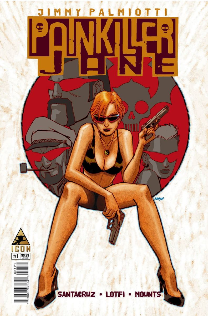 Painkiller Jane - Jimmy Palmiotti