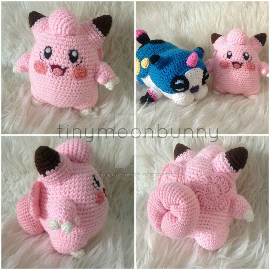 Clefairy (with pattern) by HerOnceWhiteWings.deviantart.com on ...