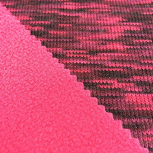 Wholesale Abaya Suppliers Wholesale Sharp Pink Slider Fleece Bonded Fabric