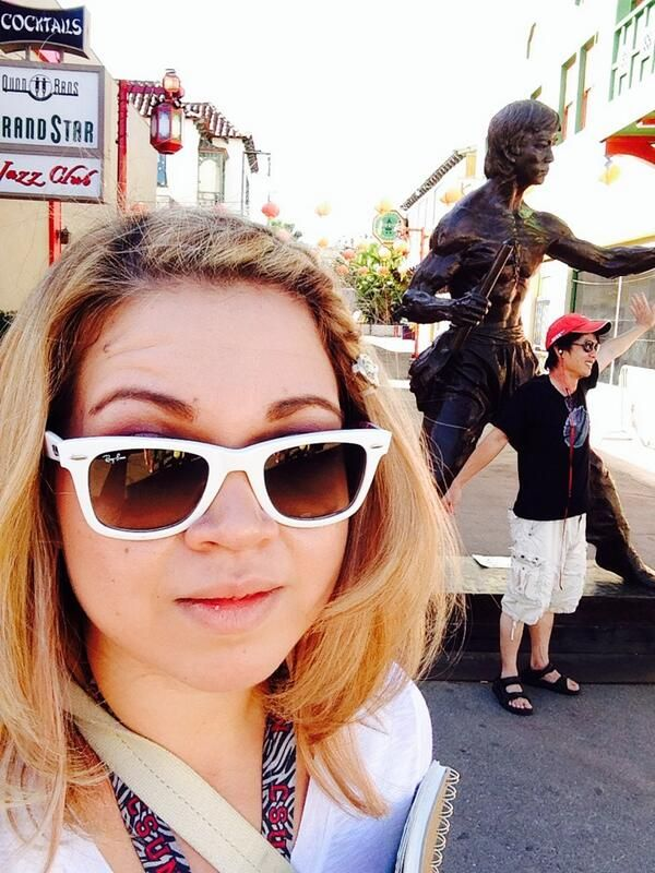 Selfie by Christy Espino