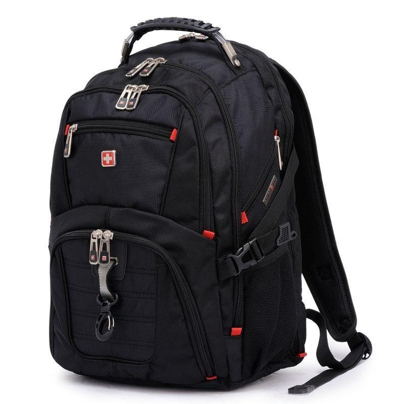 OGRAFF New swissgear men's backpacks high quality brand laptop backpack school bag black nylon men's travel bags laptop backpack