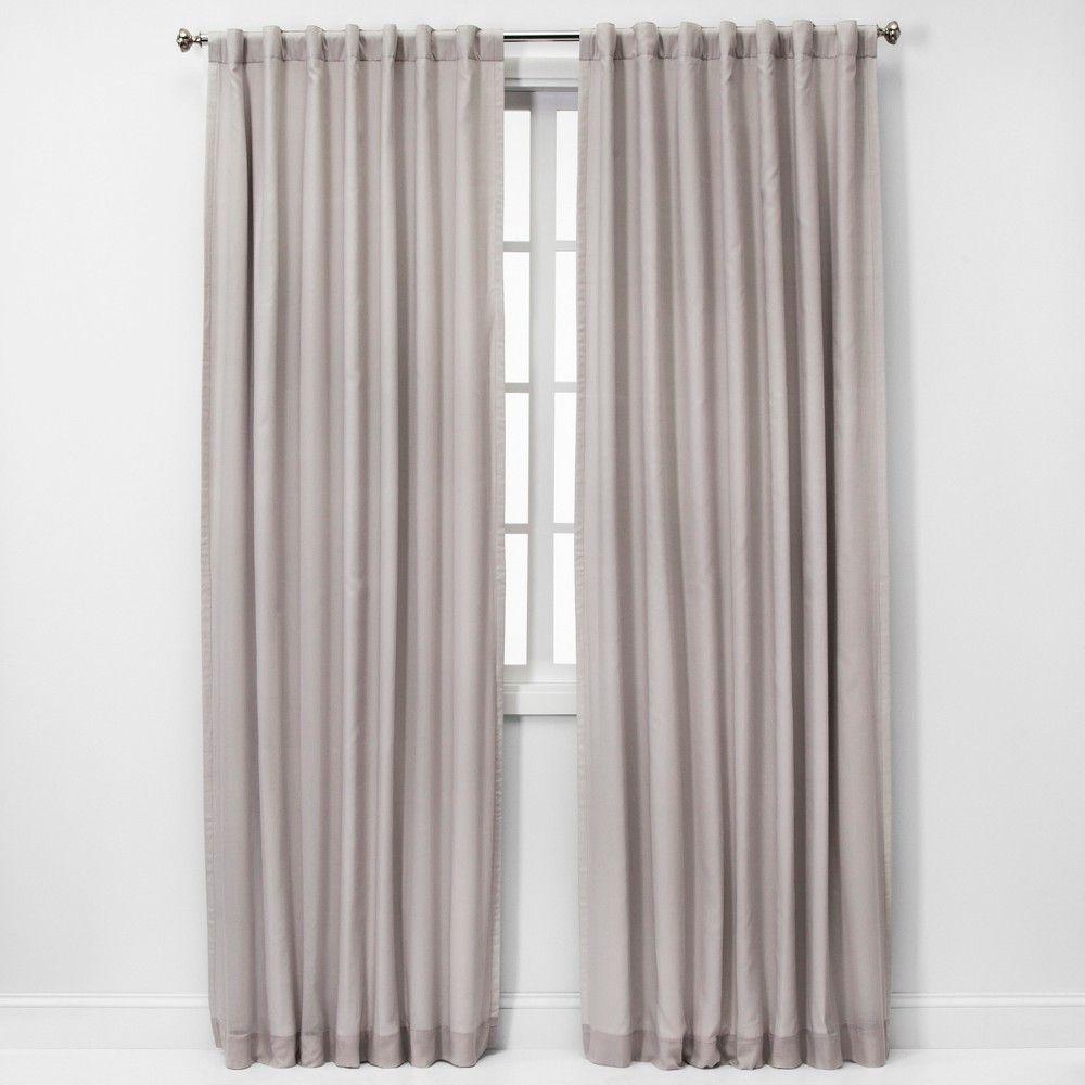 84 X50 Blackout Window Curtain Panel White Threshold Curtains Light Blocking Curtains Panel Curtains