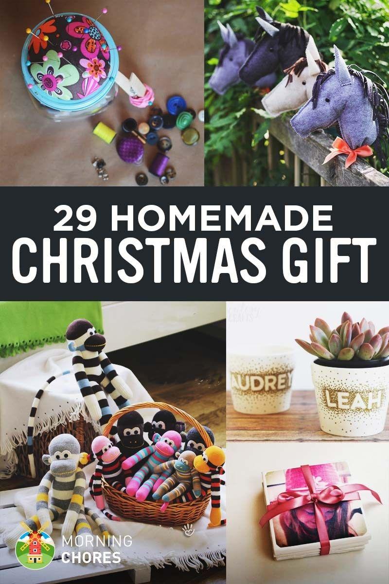 46 Joyful DIY Homemade Christmas Gift Ideas for Kids & Adults ...