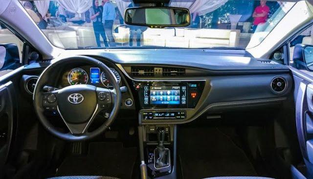 2017 Toyota Corolla Automatic Interior